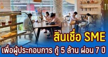 สินเชื่อ SME เพื่อผู้ประกอบการ